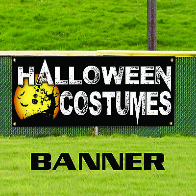 Halloween Costumes For Sale Party Décor Retail Advertising Vinyl Banner Sign](Halloween Retail Sales)