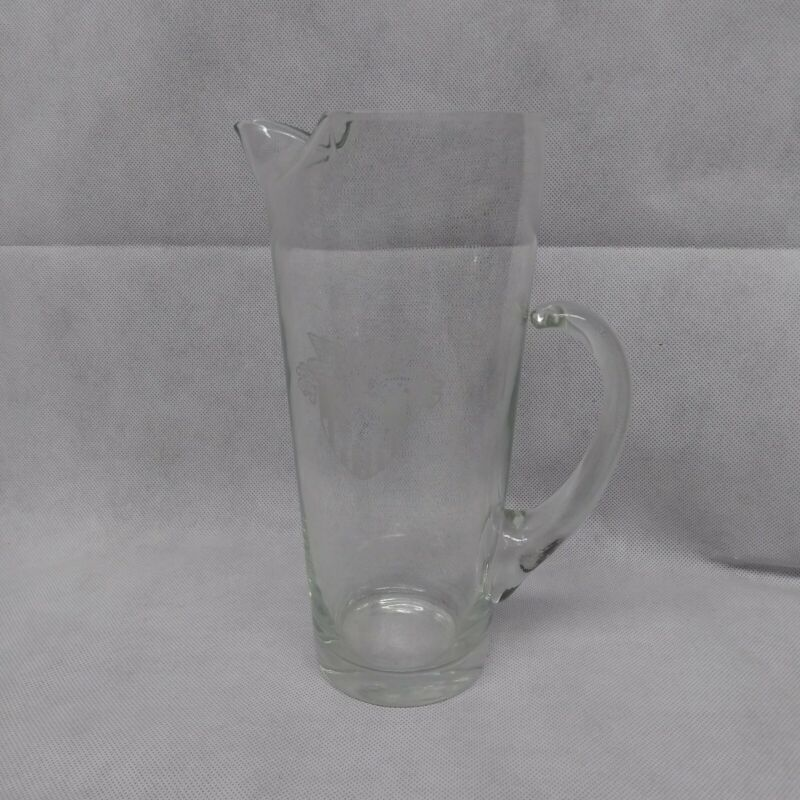 West Point Military Academy Cocktail Pitcher Glass