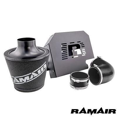 Ramair Ford Focus ST225 mk2 Black Induction Air Filter Intake Kit RS ECU Bracket