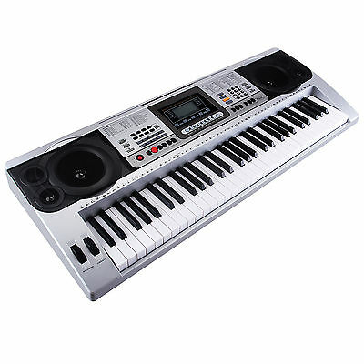 Full Size  Music Digital Electronic Piano Keyboard Electric Piano Organ 61 Key