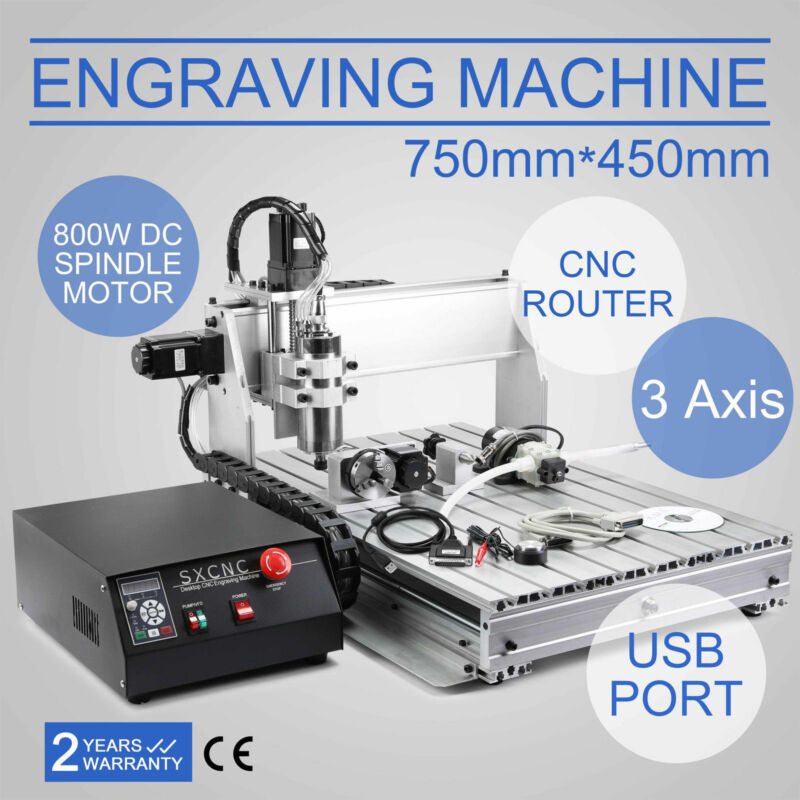 CNC 6040Z 3 Axi Engraving Drilling Milling Machine Engraver USB Router 3D Cutter