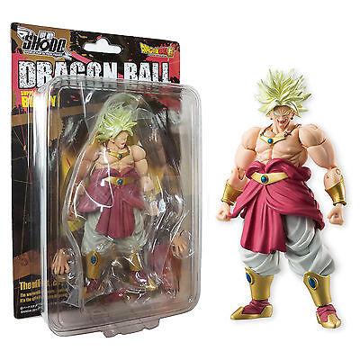 Bandai Dragon Ball Z Shodo 5 Super Saiyan Broly Action Figure NEW In Stock