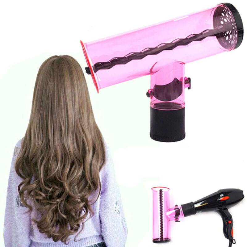 Details about Air Curler Hair dryer Curl Diffuser Spin Roller Cap Best Gift Home Salon UK