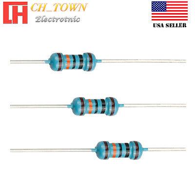 Resistor QTY 100 ea 20 Ohm 1//2 Watt 5/% Carbon Film NOS, New Old Stock K25