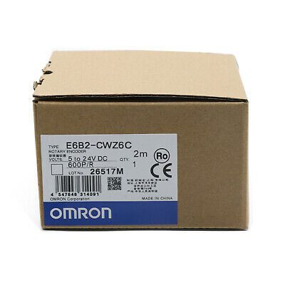 Omron E6b2-cwz6c Rotary Encoder 600pr New One Year Warranty