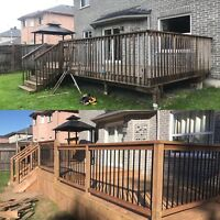 Baumer Construction ;Additions, decks, fences and new builds.