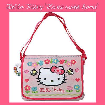 😊 HELLO KITTY HOME SWEET HOME Umhängetasche Mädchen Kindergarten,  Freizeit