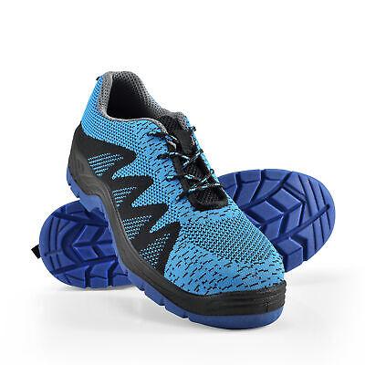 pro.tec Zapatos de Seguridad Azul Talla 45 Zapatos para Trabajar Calzado S1P