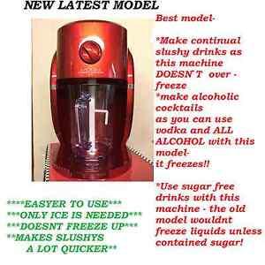 Slushy slush Machine/maker adult cocktails!Birthday party slush puppy Summer BBQ