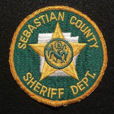 Arkansas - Sebastian County Sheriffs Department CHEESECLOTH Patch