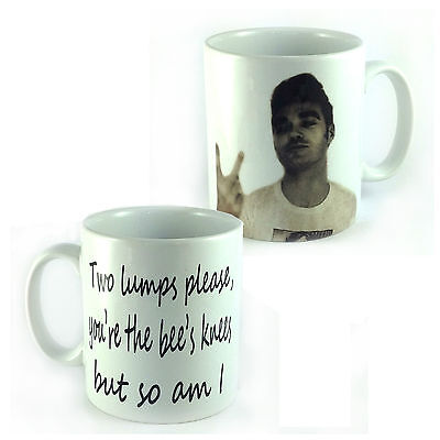 TWO LUMPS PLEASE, MORRISSEY MUG NEW PRINTED BOTH SIDES THE SMITHS GIFT