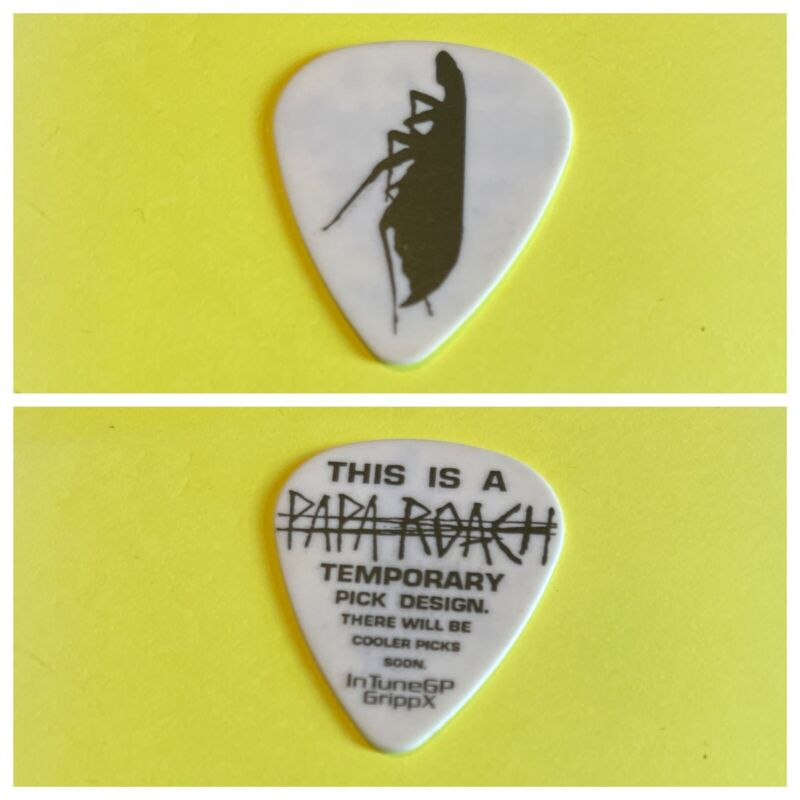 Papa Roach Rare Guitar Pick