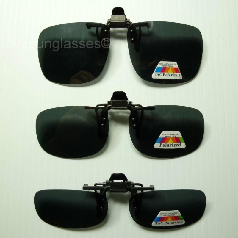 Polarized flip up clip on sunglasses 100% UV 400 protection fishing frames