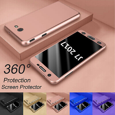 For Samsung Galaxy J7 V J7 Prime 360°Shockproof Case Cover With Screen (Quality Skin)