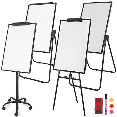 Magnetic Whiteboard Dry Erase Tripod U Stand Mobile Doublesingle Side Office
