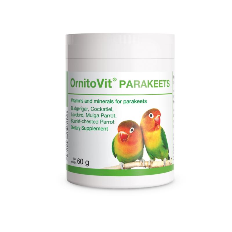 OrnitoVit Parakeets Budgerigar Cockatiel Vitamins Minerals Supplement 60g