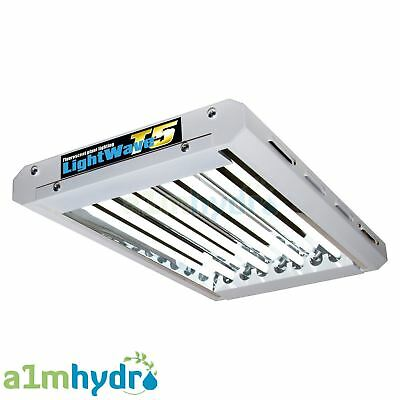 Maxibright Lightwave T5 2ft 4 Tube Propagation Grow Light Hydroponics