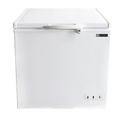 Maxx Cold 5.2 Cu. Ft. Commercial Nsf Sub Zero Chest Freezer 30.4 White 115v