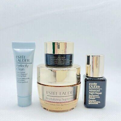 Set of Estee Lauder Revitalizing Supreme Cream 0.5 oz Eye Cream .01 oz and Serum