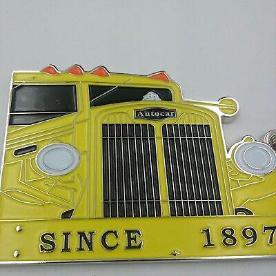 Autocar 120 year Anniversary keychain