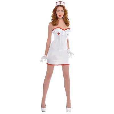 schwester Arzt Sexy Halloween Kostüm Uniform mit Hut (Krankenschwester Kostüm Hut)