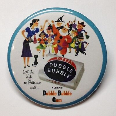 Halloween Dubble Bubble Vintage Style Fridge Magnet Buy 1 Get 1 FREE - Halloween Buy
