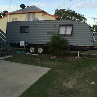 Upgraded Caravan With seperate toilet and shower Rockhampton 4700 Rockhampton City Preview