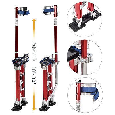 18-30 Drywall Stilts Red Aluminum Finishing Tool Stilt Painting Painter Taping