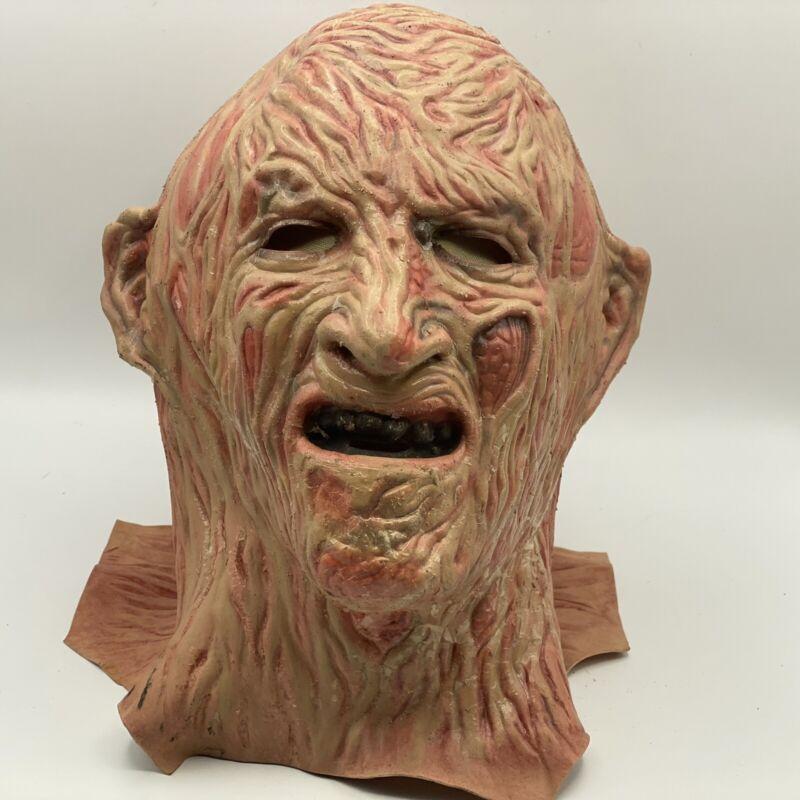 Vintage HTF Freddy Krueger Nightmare On Elm Street Original Mask 1984 Heron
