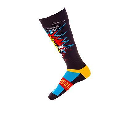 Troy Lee Designs Yellow Skully Gp Mx Socks Us 11-13, Yellow