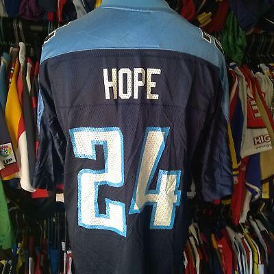 TENNESSEE TITANS NFL FOOTBALL SHIRT  24 HOPE REEBOK JERSEY SIZE ADULT L cc74438cf