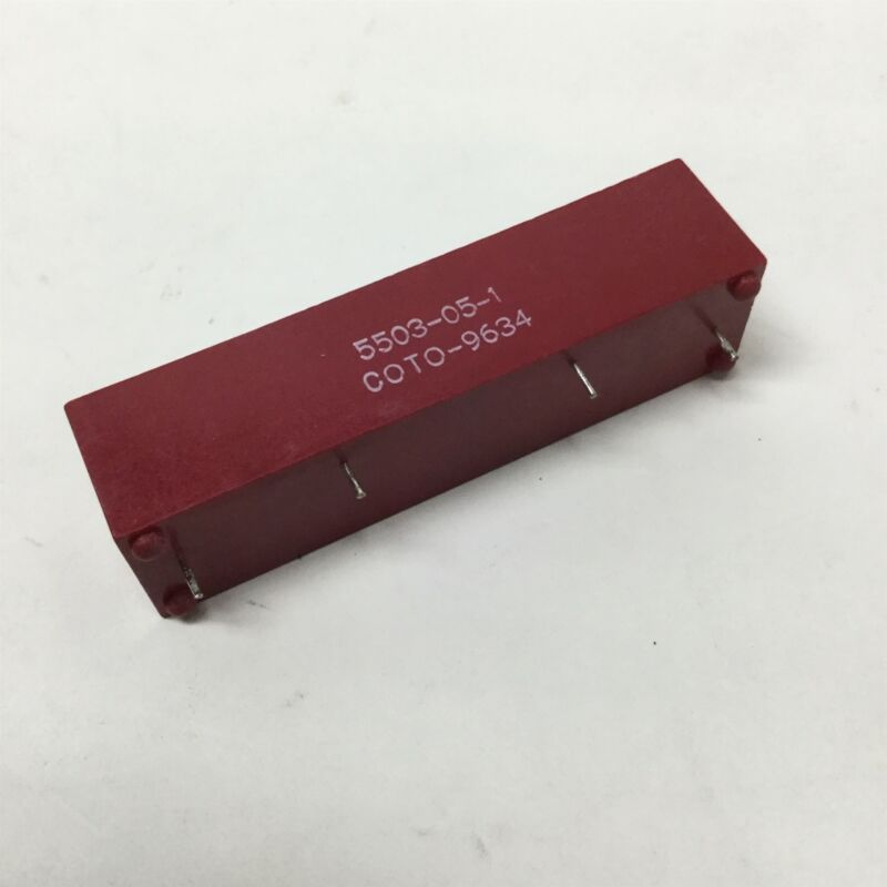 Coto 5503-05-1 High Voltage Reed Relay 3A, 3.5kV AC/DC, 200W, 5VDC Coil, SPST-NO