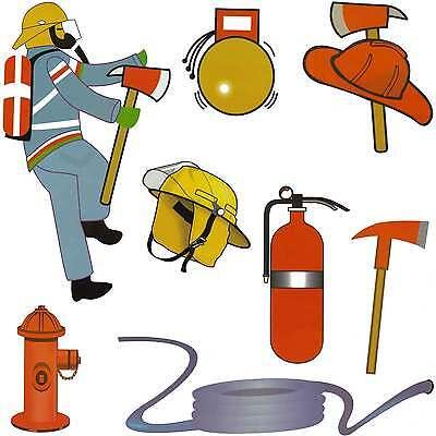 andtattoo Wandsticker Feuerwehr Feuerwehrmann Kinderzimmer (Feuerwehr-aufkleber Für Kinder)