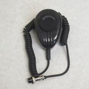 WORKMAN SS56 4 PIN BLACK NOISE CANCELLING CB RADIO MICROPHONE
