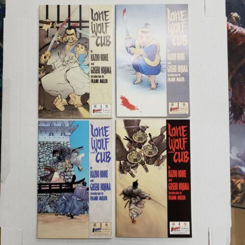 First Comics Lone Wolf and Cub Comic Lot 1 2 3 4