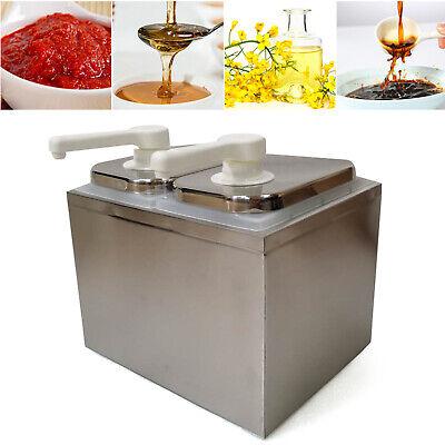 1-4lhead Stainlesssteel Ketchup Sauce Syrup Pump Salad Sauce Dispenser Pumpsale