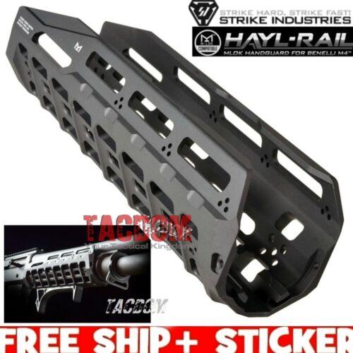 Strike Industries HAYL RAIL Black Aluminum Guard for BENELLI M 4 Shotgun M L O K
