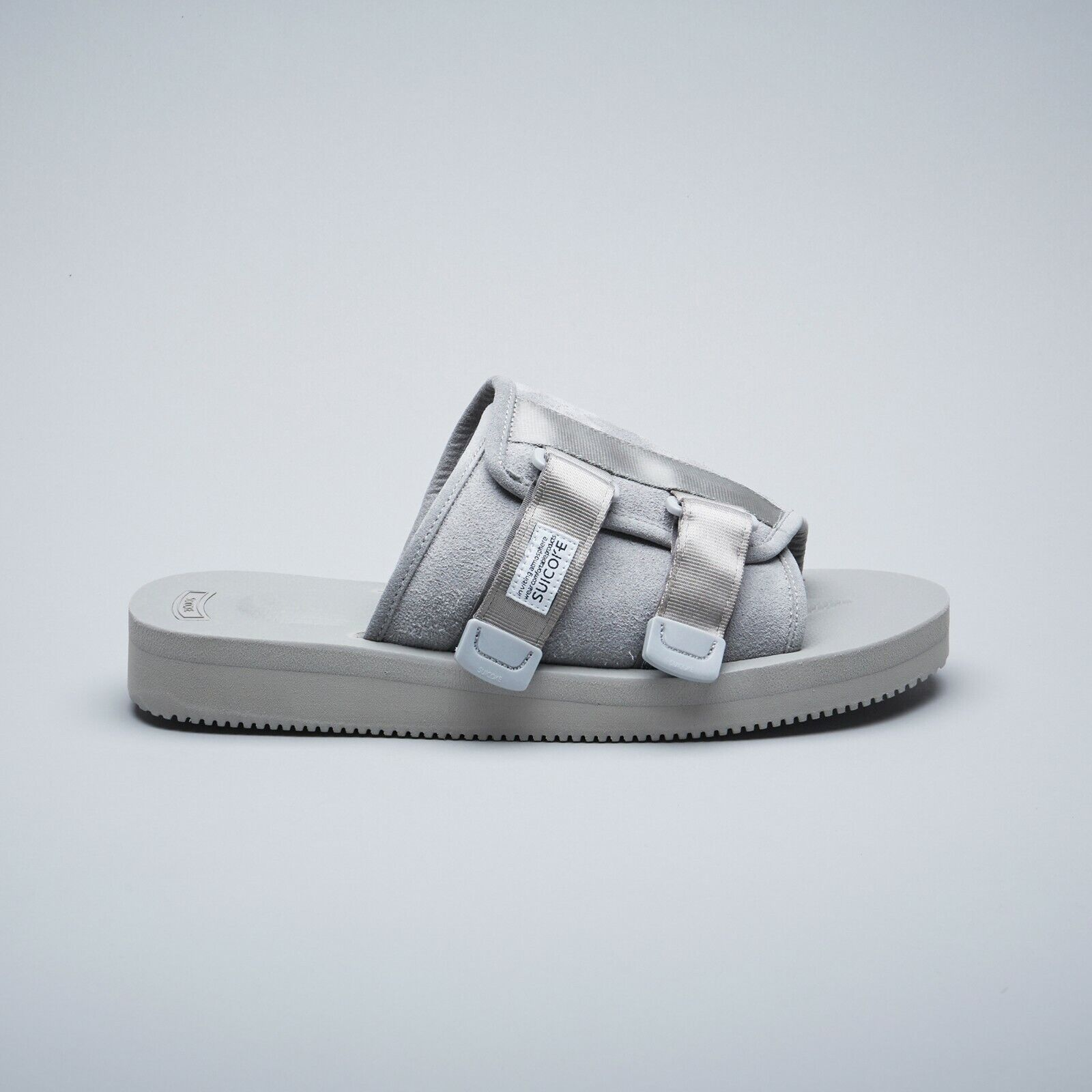 61b2490a61f Suicoke SS19 OG-081VS / KAW-VS Gray Grey Vibram Cow Suede Leather Sandals  Slides