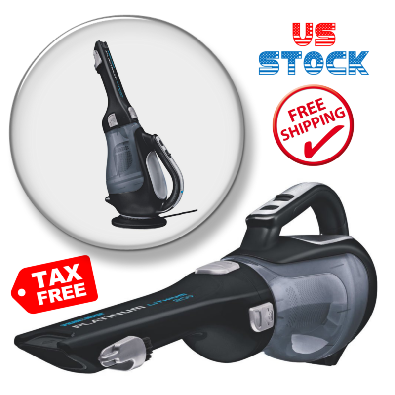 Black+Decker Cordless Hand Vacuum Bdh2000L 20-Volt Max Lithi