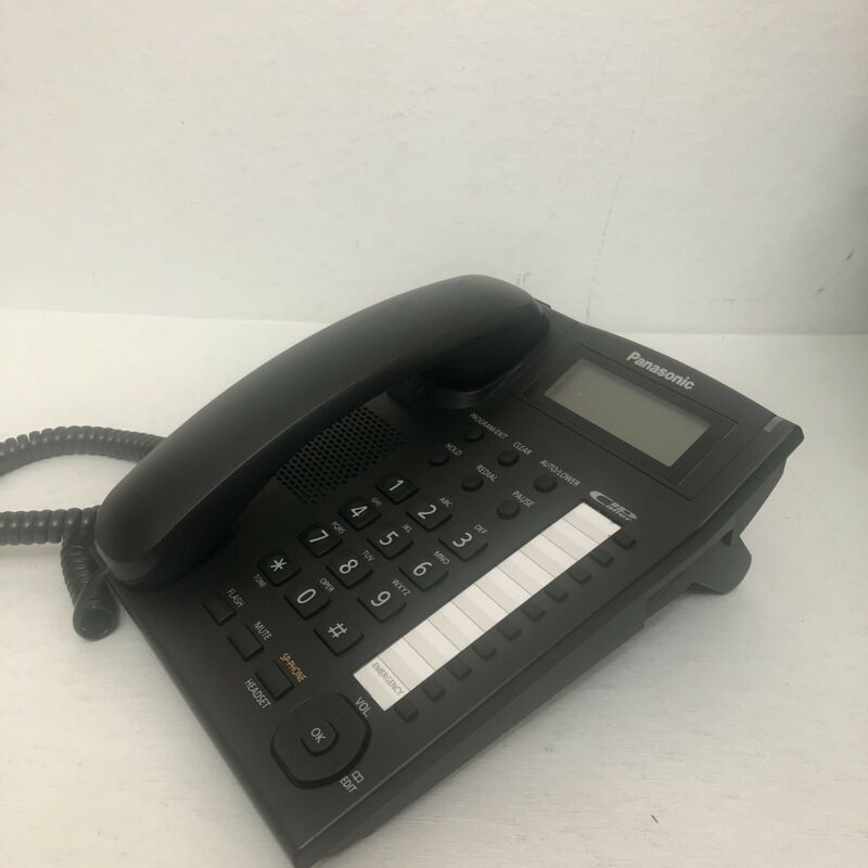 Panasonic KX-TS880 Integrated Corded Telephone, Black A9