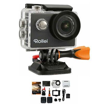 Rollei Action Cam 425 Kamera UHD 4K WIFI Helmkamera wasserdicht 170° Weitwinkel