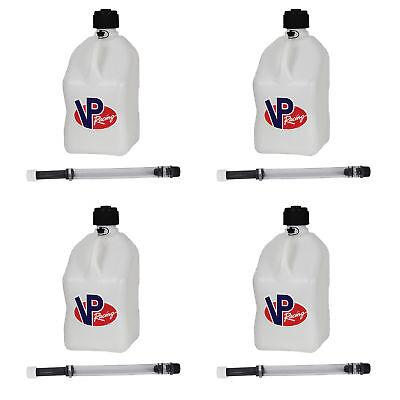 Vp Racing 5 Gallon Motorsport Racing Fuel Gas Can 4 Pack 14 Hose 4 Pack