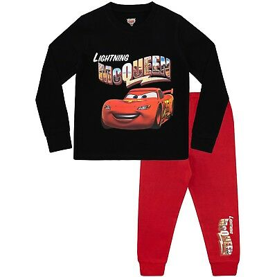 Disney Cars Pyjamas | Boys Lightning McQueen Pyjama Set | Kids Disney Cars PJs