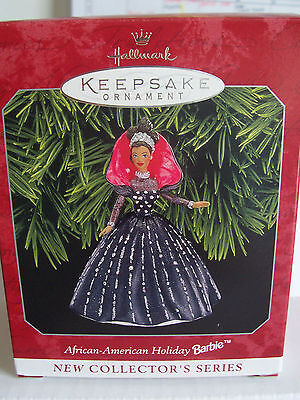 Hallmark Holiday Barbie - African American dated  1998
