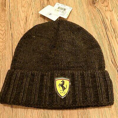 Ferrari Puma Knitted Beanie Hat