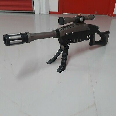 BuzzBee Range Master Air Warrior custom Sniper Rifle 50CAL cosplay prop dart gun