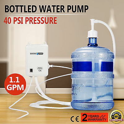 US 120V AC Bottled Water Dispensing Pump System Replaces Bunn Flojet f/Ice Maker