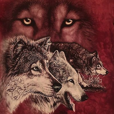 mountain HIDDEN WOLVES t shirt-GARDNER art-LIVING TREASURES WILD ANIMAL PARK--M