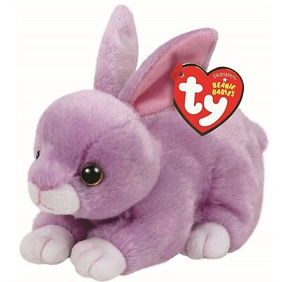 Ty Beanie Babies 41179 Dash Purple Bunny Easter