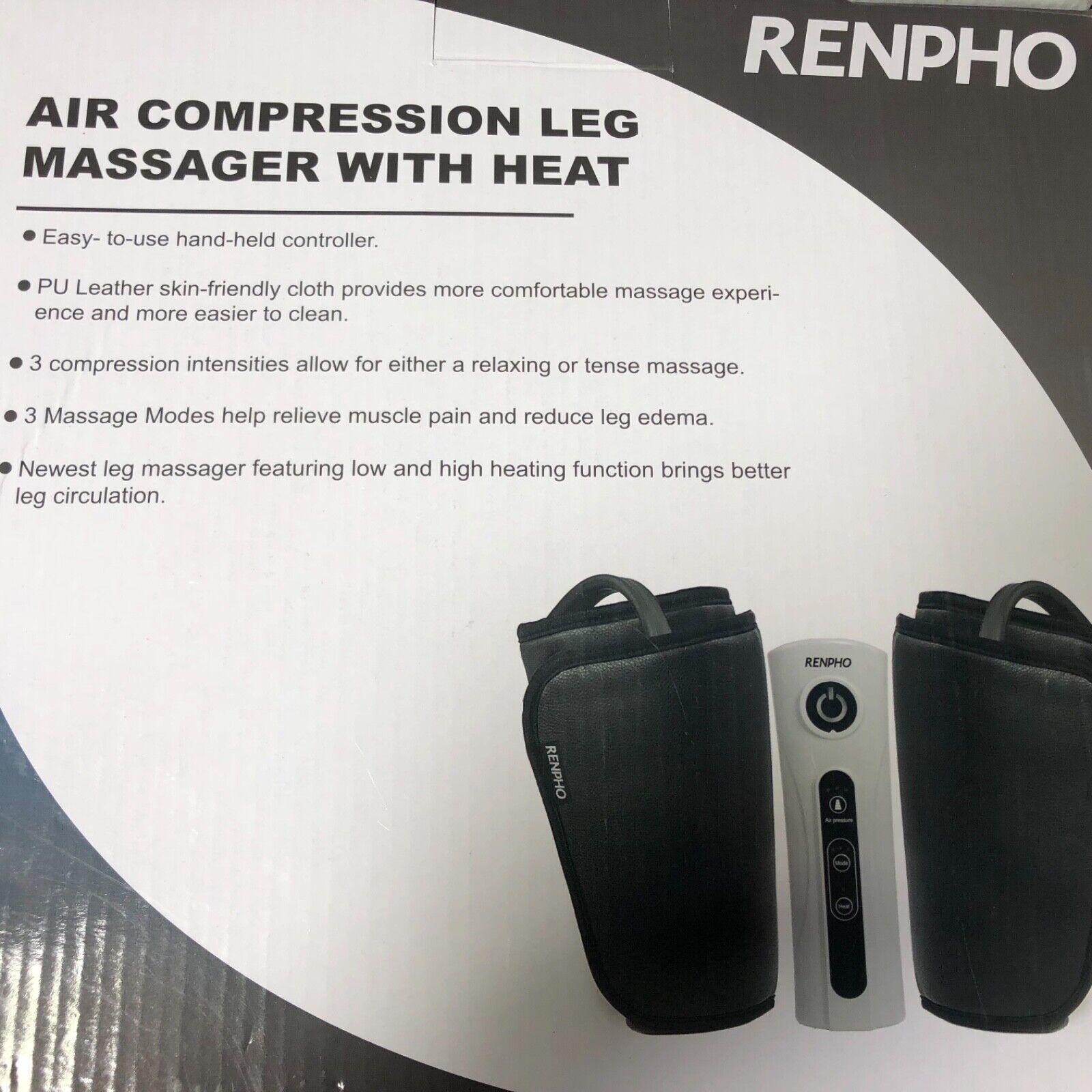 leg foot and calf massager machine heat